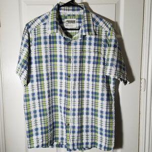 Mountain Khakis short sleeved shirt size M